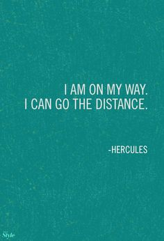"""""""I am on my way. I can go the distance.- Hercules - For a FREE Disney Vacation contact https://www.facebook.com/OUATVLeslie"""