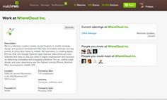 Market Your Employer Brand With matchFWD Company's page Big People, Employer Branding, Innovation, Management, Marketing