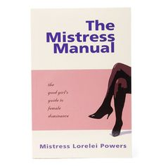 """In 1994, """"The Mistress Manual"""" was born as a simple pink guidebook self-published.  The Mistress Manual Category: Extras Name: The Mistress Manual Model: PSTMM1645 Manufacturer: Screaming O  PHP2,900.00  http://www.pleasureshop.com.ph/sextoys/the-mistress-manual.html"""