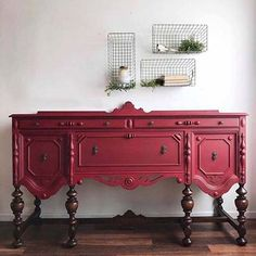 12 Painted Furniture Makeovers (Plus How They Got The Look Furniture Makeover DIY Furniture Makeovers Painted Funky Furniture, Refurbished Furniture, Paint Furniture, Repurposed Furniture, Furniture Projects, Furniture Making, Furniture Makeover, Vintage Furniture, Cheap Furniture