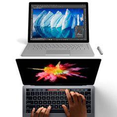 Innovación o continuidad en las empresas punteras de tecnología que se dirigen al mismo mercado. Y es que si comparamos los dos grandes...