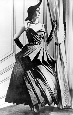1948 - Christian Dior 'Cyclone' dress