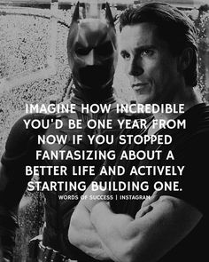 Imagine how incredible you'd be one year from now..