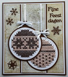 123 Cross Stitch, Cross Stitch Cards, Embroidery Cards, Marianne Design, Card Patterns, Plastic Canvas Patterns, Christmas Cross, Handicraft, Projects To Try