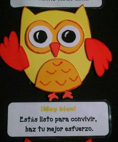 Semaforo conducta búhos (4) Jw Gifts, Classroom Rules, Classroom Ideas, Self Assessment, Nice To Meet, Precious Moments, Learning Activities, Special Education, Crafts To Make
