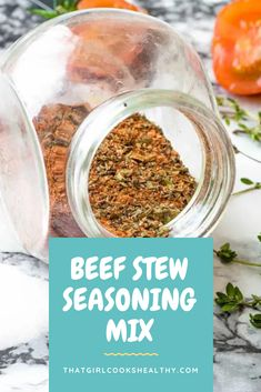 Learn how to make your very own multipurpose beef stew seasoning mix using common pantry ingredients from scratch within minutes. Beef Seasoning Recipe, Seafood Seasoning, Seasoning Mixes, Fun Cooking, Healthy Cooking, Cooking Tips, Grinders Recipe, Homemade Beef Stew, Beef Curry