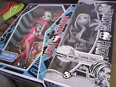 Monster high Frankie Stein dawn of the dance!