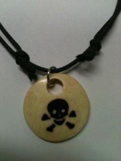 A Pirates Life for Me Boys Necklace. $6.00, via Etsy.