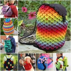 Free Crochet Backpack Patterns!