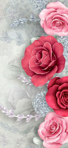 Beautiful Flowers Pictures, Beautiful Flowers Wallpapers, Pretty Backgrounds, Flower Backgrounds, Flower Pictures, Beautiful Roses, Cute Wallpapers, Plant Wallpaper, Flower Background Wallpaper