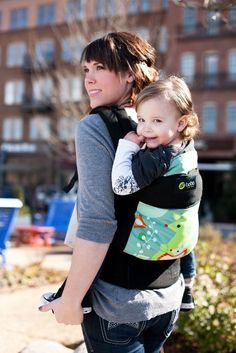 This is my absolute favorite carrier. It's not hard on their hips and can be used from infancy through toddlerhood. We didn't buy it until he was over a year and I wish we had bought it sooner. Can be worn front and back. Has a hood to put over a napping baby's head and a pocket to hold keys and phone. I felt like it was the easiest to use as well.   Boba 4G Baby Carrier - Kangaroo - One Size