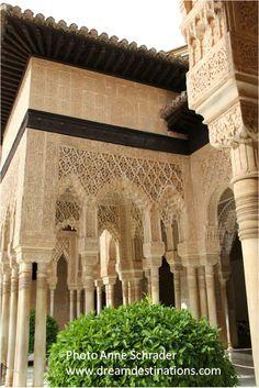 Courtyard Nazaries Palace Alhambra