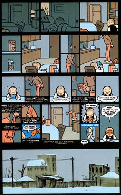Jimmy Corrigan The Smartest Boy on Earth - Chris Ware