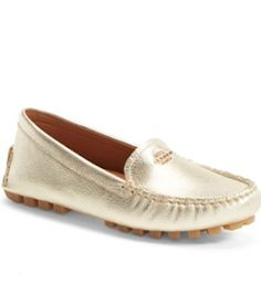 gold Coach moccasins