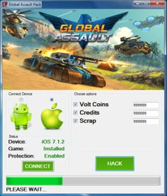 Global Assault Hack Tool (Android/iOS) - HackitNow