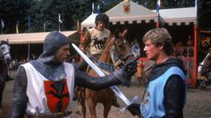 Ivanhoe (TV movie) (1982) Sam Neill and Anthony Andrews