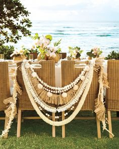Whether you're getting married on the sands of Maui or some other sun-kissed shore, or you simply love a laid-back tropical vibe, our DIY inspiration will decorate your day in a way that's tastefully tiki and guaranteed to be terrific.
