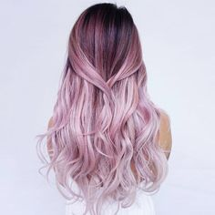 Red or Pink Hair Color Tones-Do you want to have stylish ombre hair color? We bet you do! Long Hair Cuts, Long Hair Styles, Ombre Hair Styles, Coloured Hair, Dye My Hair, Dip Dye Hair, Ombre Hair Color, Pastel Ombre Hair, Dyed Hair Ombre