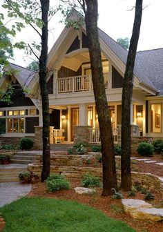 Home Exterior.  Maybe on a smaller scale.