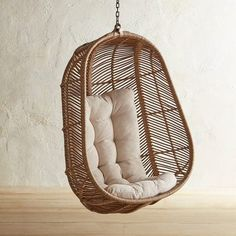 ShopStyle Look by Gohelplove featuring Knoll Saarinen 42 Inch Oval Coffee Table and Pier 1 Imports Swingasan Croix Light Brown Hanging Chair Macrame Hanging Chair, Diy Hanging, Hanging Chairs, Hanging Swing Chair, Hanging Basket, Papasan Chair, Diy Chair, Swivel Chair, Chair Cushions