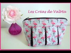 Tuto Couture Sac Bandes sequins paillettes style VB / Sewing - YouTube
