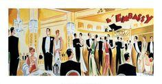 L'Embassy, 1925 Vintage Fine Art Print