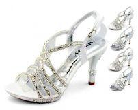 Shoezy, estate 2015 sandali sposa argento
