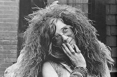 There was always something SO vulnerable about her.  Janis Joplin