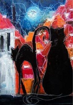 Justyna Kopania ~ Abstract Palette Knife painter | Tutt'Art@ | Pittura * Scultura * Poesia * Musica |