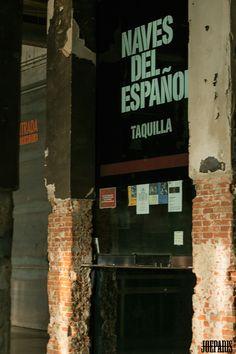 Señalética  (por Alberto Corazón) y espacios de Matadero Madrid.  JoeParis, 2015