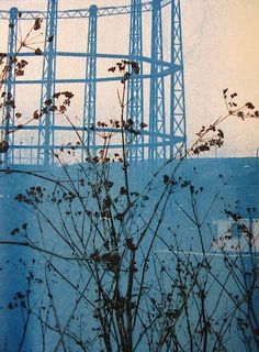 low fired: layered cyanotypes