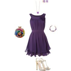 outfit to wear to a wedding as a guest. :) super pretty, and I adore the color!!