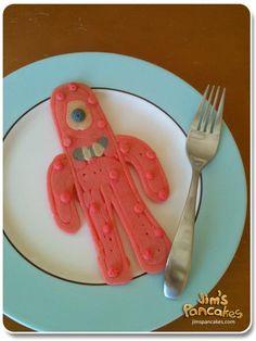 Yo gabba gabba pancake.