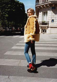 le chic dans la peau VOGUE PARIS stylist geraldine saglio 1