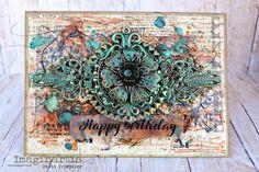 Papier i metal / Paper and metalNostalgia z motylami / Nostalgia with butterfliesLemoncraftowy komplet / A set for LemoncraftTag z syrenką / A tag with mermaidDekoracja / Decoration