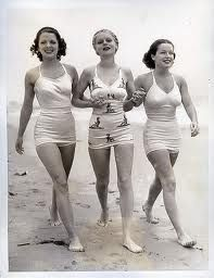 Bathing Beauties and their suits - Late 19th Century to 1930's.