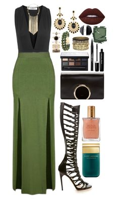 """""""Nighttime in Rio"""" by kylen91 ❤ liked on Polyvore featuring Oh My Love, Topshop, Paul Andrew, Miss Selfridge, Trish McEvoy, Marc Jacobs, Chloé, NARS Cosmetics, Accessorize and Daytrip"""