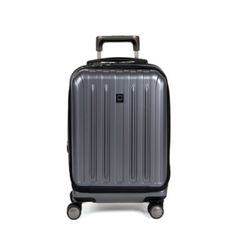 """Delsey Titanium International 19"""" Carry On Expandable Spinner Trolley 