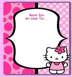 Hello Kitty Doğum Günü Organizasyonu, Hello Kitty Doğum Günü Organizasyonu Parti Malzemeleri, Kız Çocuk Doğum Günü