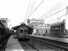 station Rotterdam Blaak stationsgebouw I (1937) middendeel met twee verdiepingen…