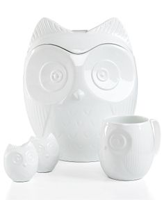 The Cellar Serveware, Figural Owl Collection