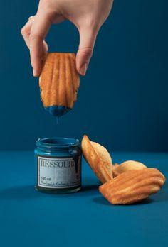 delicious paint madeleines - histoire de couleurs