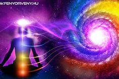 A rezonancia törvénye: Minden vágyunk teljesülhet, ha odafigyelünk erre! Chakra Art, Galaxy Art, Yoga, Qigong, Karma, Law Of Attraction, Feng Shui, Northern Lights, Canvas Art