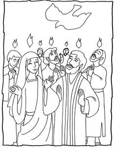 Kids Coloring Page From What S In The Bible Showing Peter border=