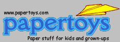 Fun paper stuff for kids of all ages -- print, cut and create vehicles, dinosaurs, famous buildings, animals...