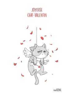 MiniKoni: Joyeuse Chat-Valentin !