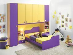 Dormitoare copii Bedroom For Girls Kids, Modern Kids Bedroom, Modern Kids Furniture, Cool Kids Bedrooms, Kids Bedroom Furniture, Bedroom Cupboard Designs, Room Design Bedroom, Kids Room Design, Bed Design