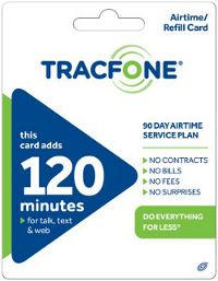 Free $120 Tracfone Refill