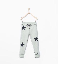 ZARA - NIÑOS - Legging canalé estrellas