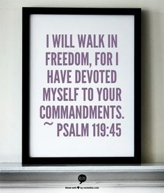Even if I am in a confined area, my spirit will be free.